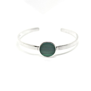 simple bangle - malachite
