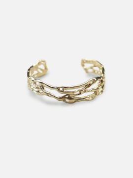 broken waves bangle
